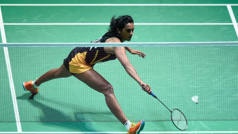 PV Sindhu is one of the athletes supported by Olympic Gold Quest