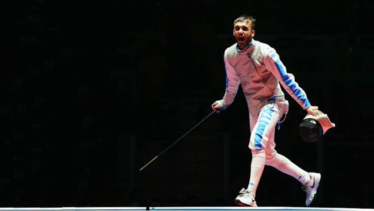 リオデジャネイロ五輪の金メダルを獲得したダニエレ・ガロッツォ。西藤は2017年7月の大会でオリンピック王者を撃破してみせた