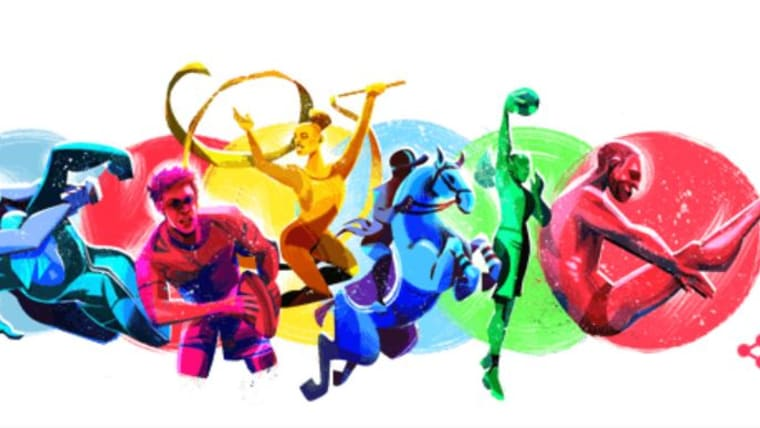 Google marks the beginning of the Pan American Games 2019 in Lima, Peru with a Google doodle.