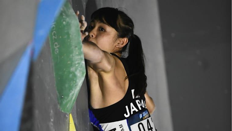 2019年の4月に17歳になる。日本女子クライマーのなかでは将来性豊かな若手の一人と考えられている
