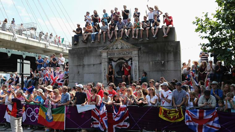 2012年のロンドン五輪では、オリンピックを地域活性化や観光振興にも結びつけている