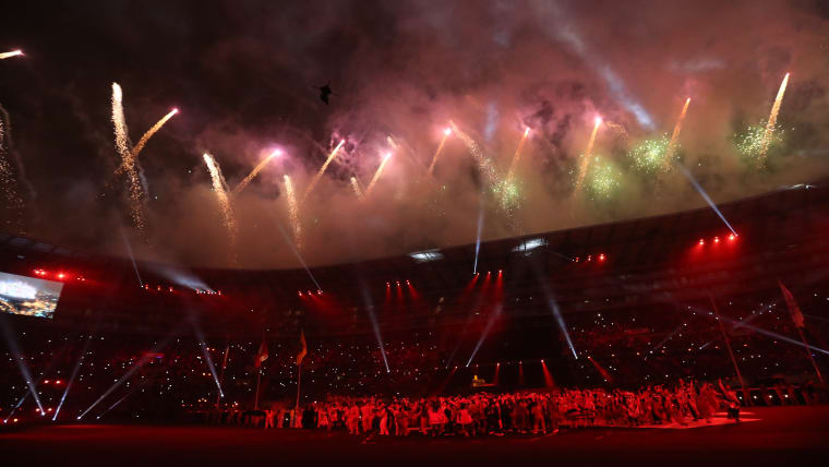 Lima 2019 goes out in a blaze of light and sound