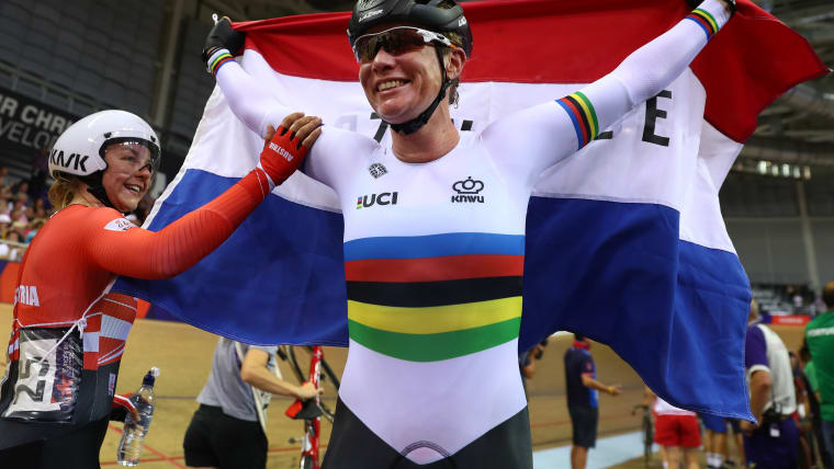 Kirsten Wild is the defending champion in the Omnium, Points race and Scratch events.