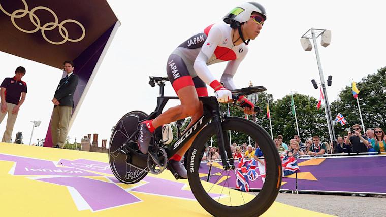 ロンドン五輪では、個人タイムトライアルにも出場した/Getty Images