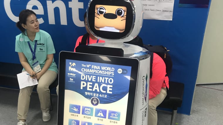 The friendly accreditation robot