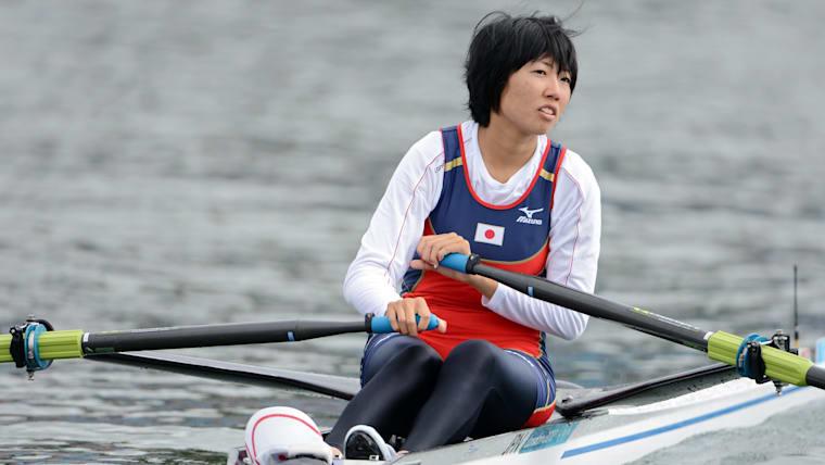ロンドン五輪で日本勢初となる女子シングルスカルに出場した榊原春菜