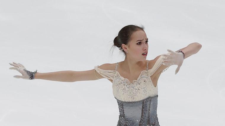 Alina Zagitova short program at Rostelecom Cup 2018