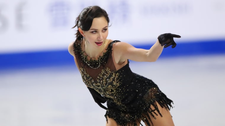Elizaveta Tuktamysheva at the 2018-19 Grand Prix Final in Vancouver