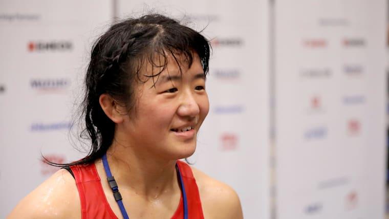 「梨紗子さんに優勝してほしい」と永本選手