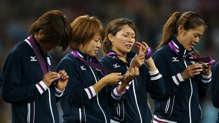 ロンドン五輪では銀メダル獲得に貢献した。