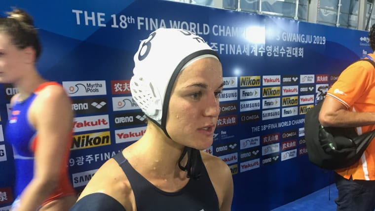Olympic gold medallist Kiley Neushul said the Netherlands 'set the bar' for Team USA