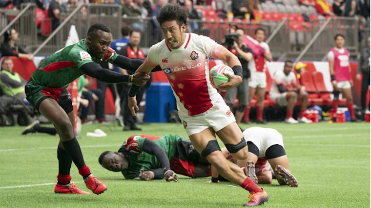 男子日本代表「セブンズジャパン」の主将を務める小澤大。2018年に7人制日本代表チーム専任選手契約を交わしている
