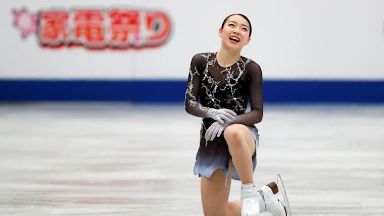 Rika Kihira in action in Saitama