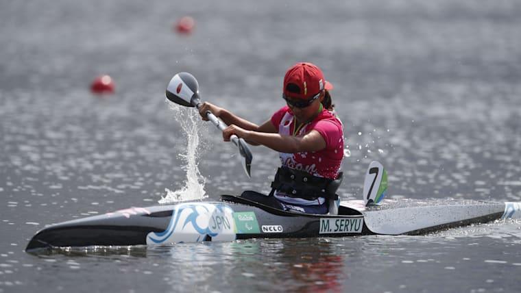 Seryu competing at Rio 2016 Paralympic Games