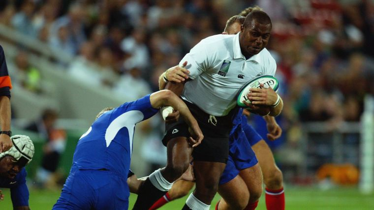 Rupeni Caucaunibuca starred at the 2003 Rugby World Cup, and became a highly sought-after player in Europe.