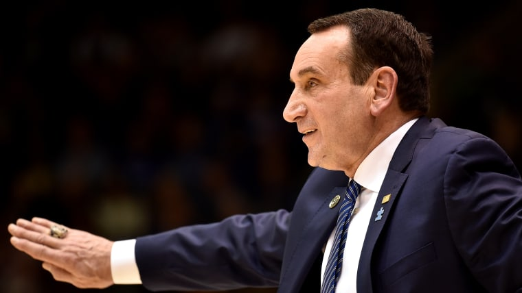 Mike Krzyzewski has been coaching Duke University since 1980