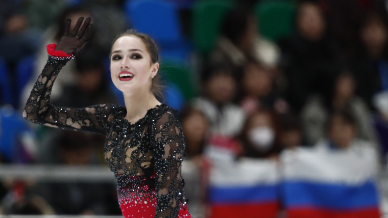 Alina Zagitova Rostelecom Cup