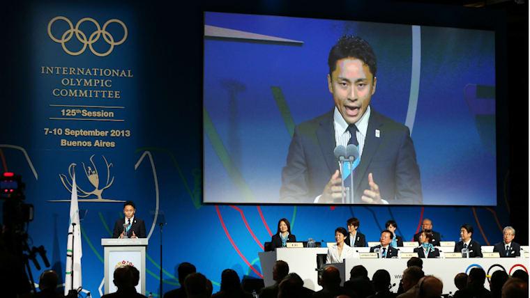 東京五輪には招致活動にかかわった。国際オリンピック委員会総会でプレゼンターも務めている
