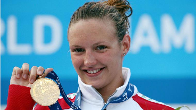20歳の時に迎えた2009年の世界選手権では400M個人メドレーで優勝。自身にとって国際舞台で初の金メダルだった