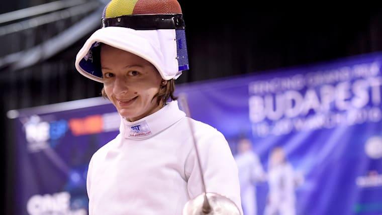 ルーマニアのアナ・マリア・ブランザ(ポペスク)は女子の注目選手の一人。2018年の世界選手権でも銀メダルを獲得している