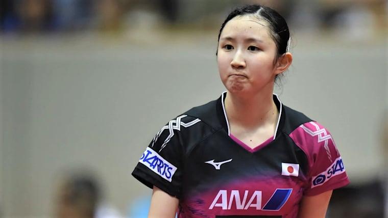 早田ひなら日本勢は、本戦から大会に出場。優勝を狙う(写真は2018年ジャパンオープン)