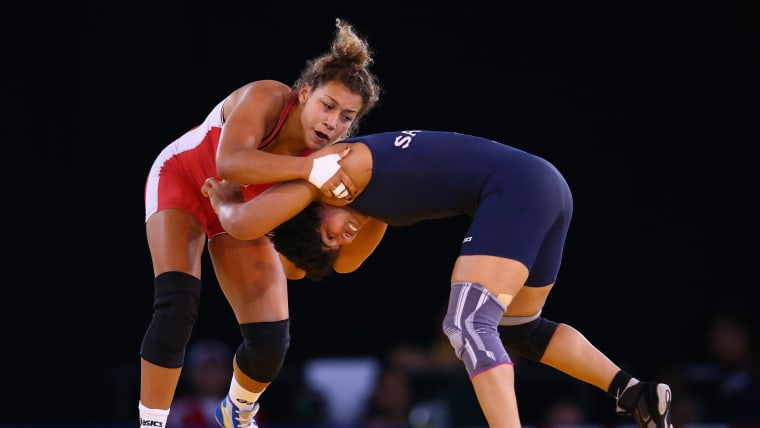 At the 2014 Commonwealth Games, Sakshi Malik won a silver medal in the 58kg category