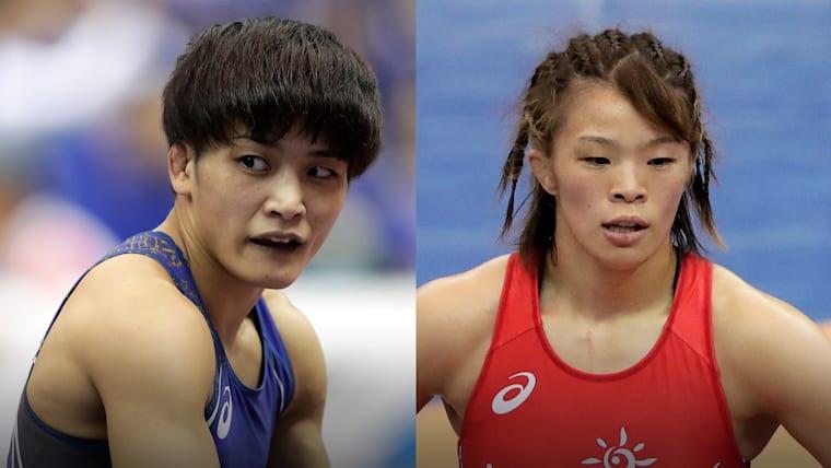 女子57kg級の世界選手権代表権を勝ち取るのは、伊調馨か、それとも川井梨紗子か