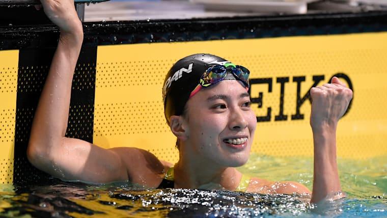 競泳選手として遅咲きの逸材、大橋悠依。ここ3年で急激な成長を遂げている
