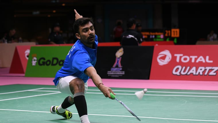 Sameer Verma has advanced to the third round of the Dutch Open.