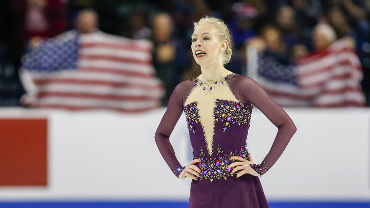 Bradie Tennell (USA) during the free skate competition Credit: Joe Nicholson-USA TODAY Sports
