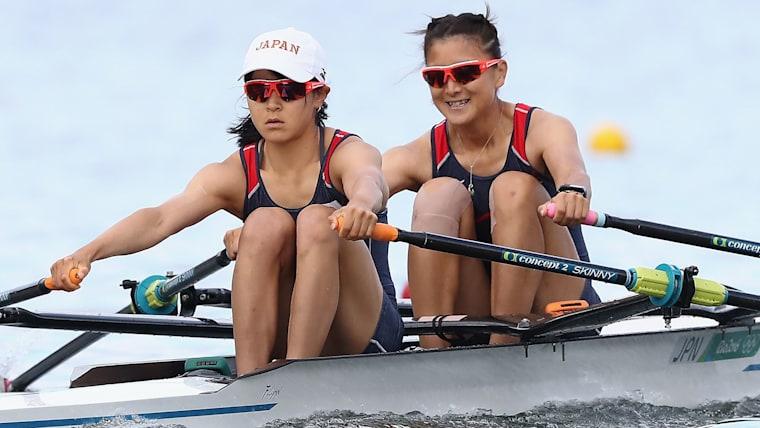 リオデジャネイロ五輪で決勝まで進んだ大石綾美と冨田千愛。東京五輪でも有力候補