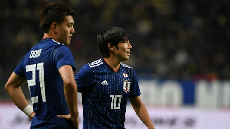 中島翔哉(右)とともに、新生日本代表の顔として注目を浴びている