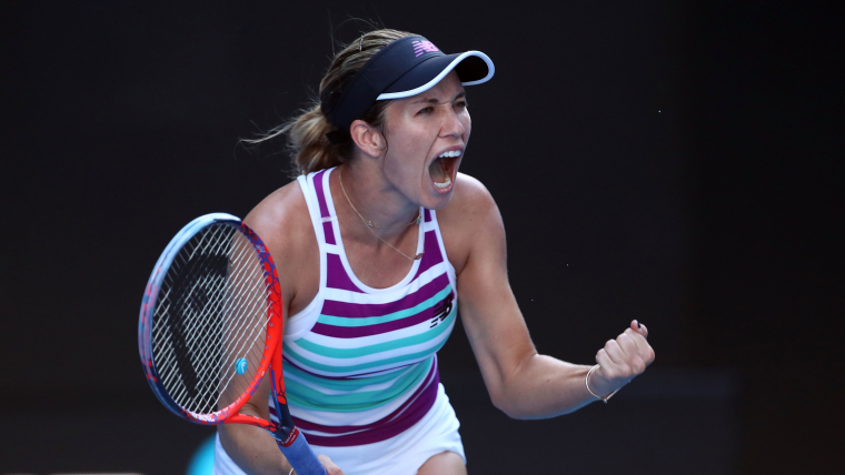 Danielle Rose Collins is the last American singles player left in Melbourne after Serena Williams' exit