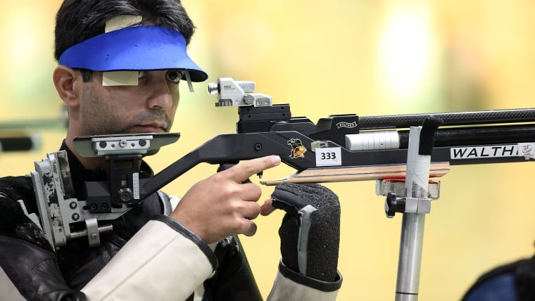 Abhinav Bindra bowed out of the 10m Air Rifle after a shoot-off in the Rio 2016 final.