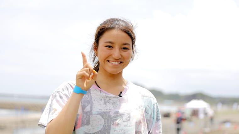 Japanese teenage surfing sensation Shino Matsuda