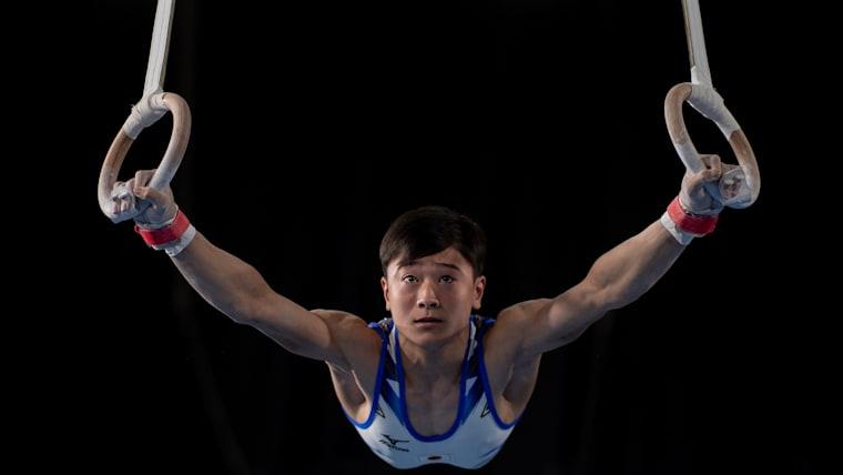 Takeru Kitazono on rings (Lukas Schulze/OIS)