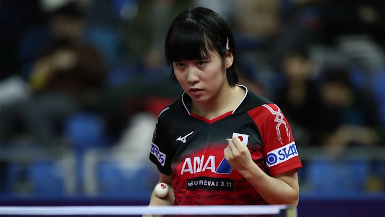 東京オリンピックでもメダルの期待がかかる平野美宇