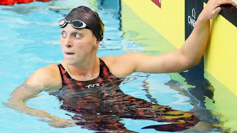 ケイティ・レデッキーは、世界記録を保持するなど水泳王国アメリカの象徴的存在のひとり