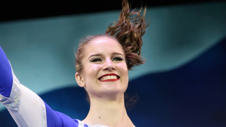 Finnish cheer squad member Rosanna Toivonen (Photo courtesy of Action Moments USA)