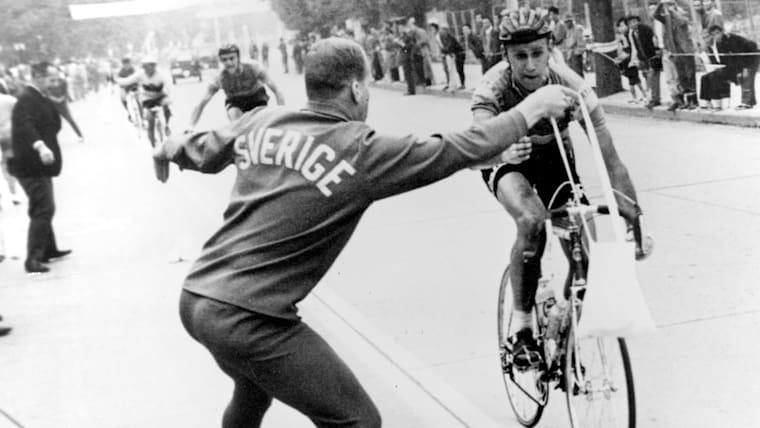 1964年の東京五輪でも行われた個人ロードレースは、八王子の街を周回するコースだった
