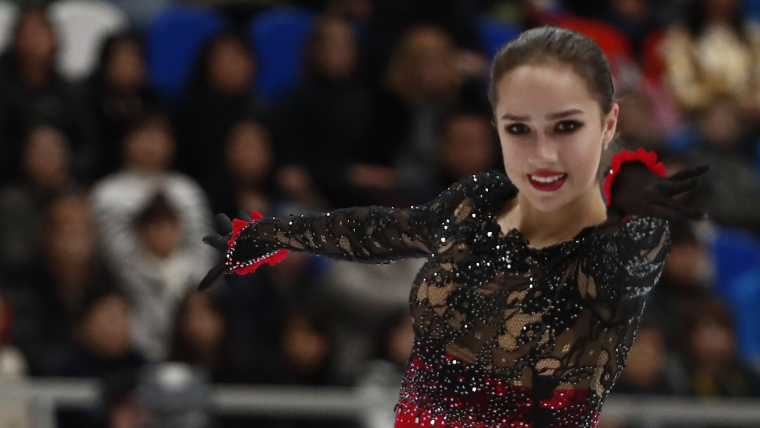 Alina Zagitova wins the free skate at Rostelecom Cup