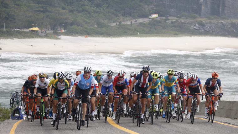Women's road race from Rio 2016