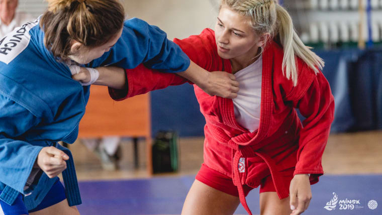 Sambo is one of the 15 sports featuring at Minsk 2019