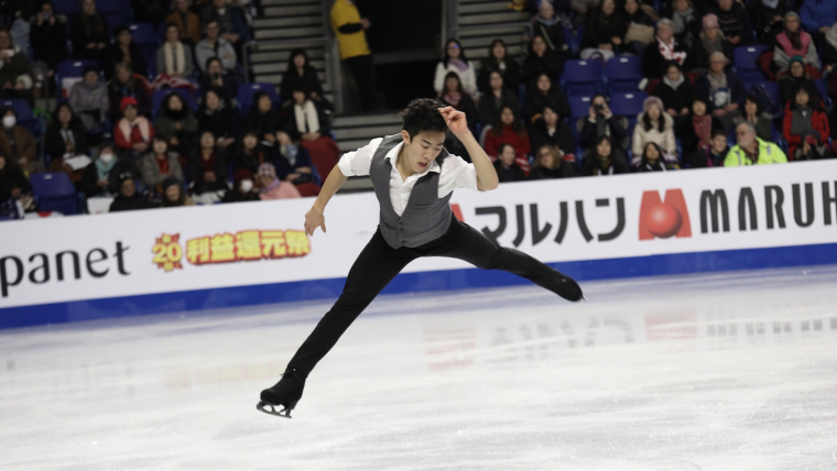 Nathan Chen leads the standings after the short program at the Grand Prix Final