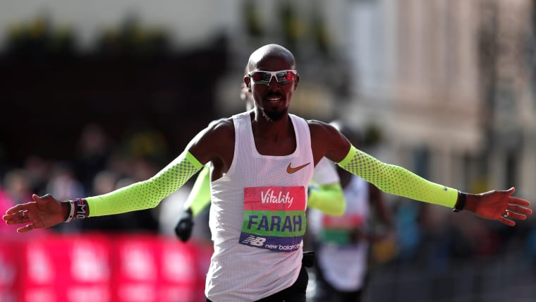 Four-time Olympic champion Mo Farah retains his Big Half title in London