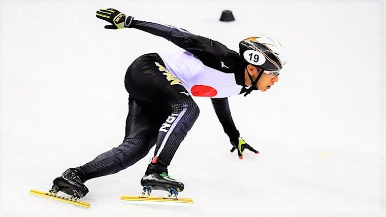 スピードスケート・ショートトラック世界選手権の最終日、渡辺啓太が総合6位に入った(写真は平昌五輪のもの)