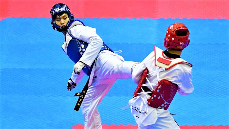 日本人最高順位は、男子63キロ級の村上亨來の3回戦敗退(写真は日本選手権のもの)