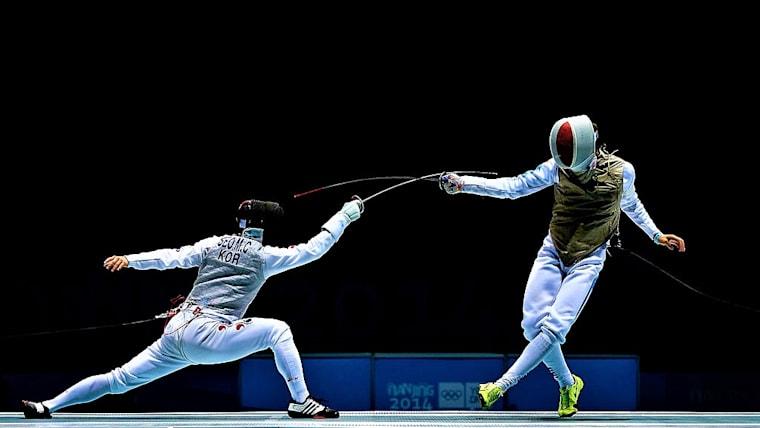 福島史帆実、江村美咲(写真)の両日本人選手は、共にイタリア勢に敗れて1回戦敗退(写真は夏季ユースオリンピックのもの)