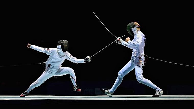 アジア選手権2日目の日本勢最高位は、女子エペの吉村美穂の5位(写真はユースオリンピック南京大会)