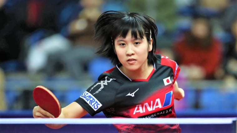 平野美宇は、準決勝で敗れて3位タイ(写真はワールドツアー・グランドファイナル2018)